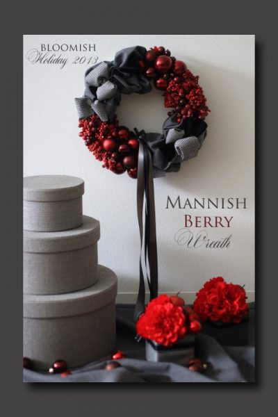 mannish berry wreath